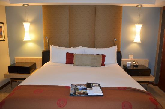 Battery Wharf Hotel, Boston Waterfront: Sleeping accomodations