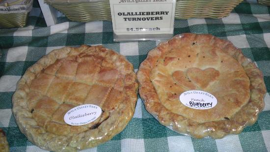 San Luis Obispo, CA: Pies were $13-15 each.