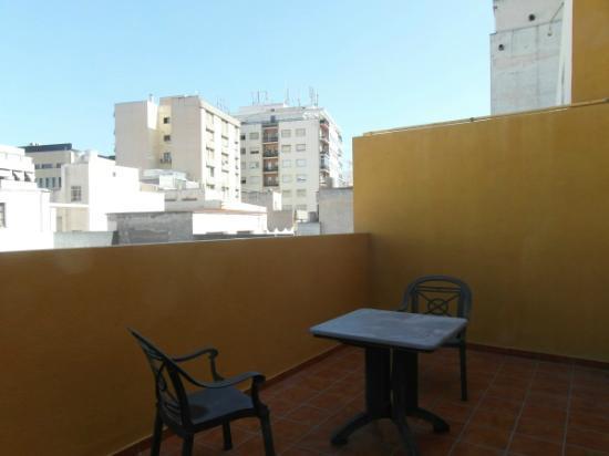 hotel Torreluz Senior - la terraza