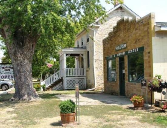 Trail Days Cafe & Museum: Exterior (and another building being fixed up)