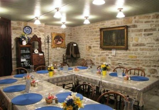 Trail Days Cafe & Museum: Basement Dining Area