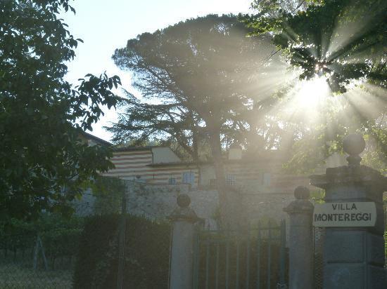 Agriturismo Montereggi: Villa entrance