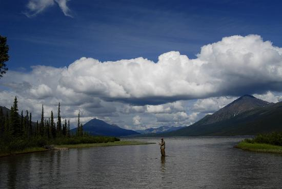 Iniakuk Lake Wilderness Lodge: Flyfishing