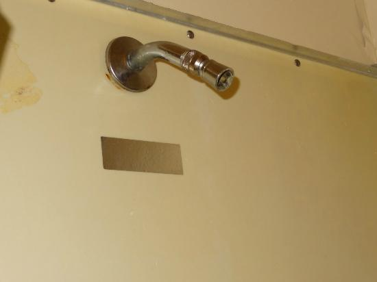 Blue Water Inn: Shower head