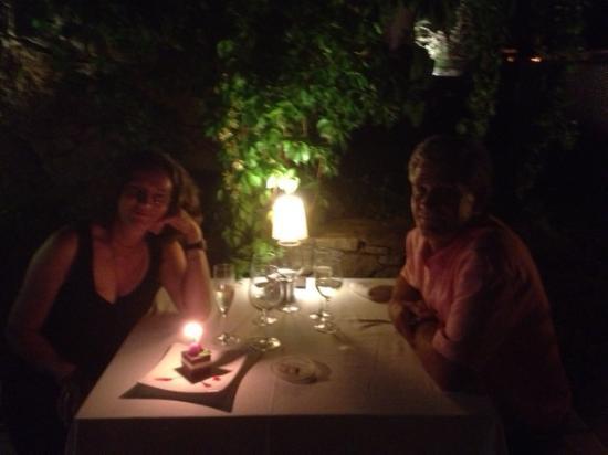 Mas Salvi Hotel : Terraza Maravillosa de Mas Salvi