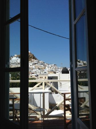Pension La Luna: view from bed