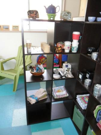 Tofino Tea Bar: items for sale