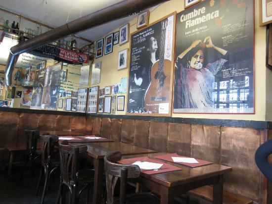 Comunidad de Madrid, España: der hintere Raum in der Taberna