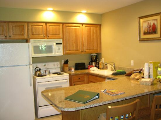 Whispering Woods Resort: Kitchen