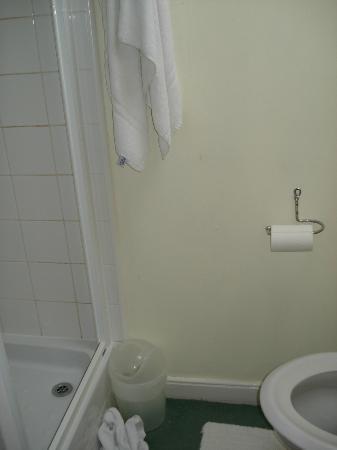 Gyllyngvase House Hotel : shower room - no ventilation
