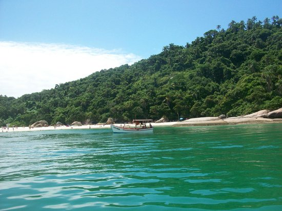 Campeche island: llegando a la isla...