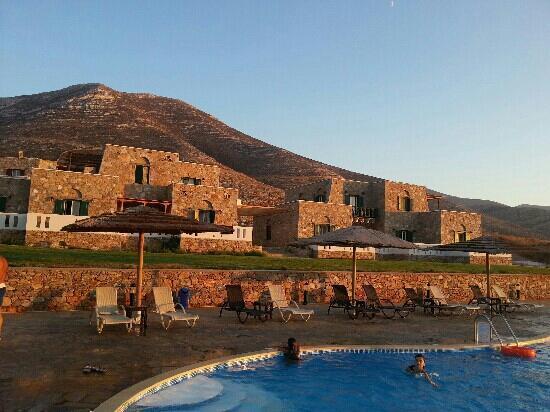 Aquapetra Hotel: Sunset
