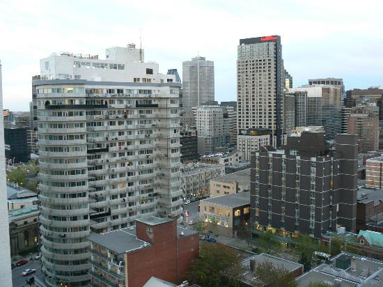 Appartements Trylon: Vue centre ville