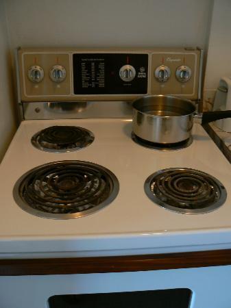 Appartements Trylon : La superbe cuisinière