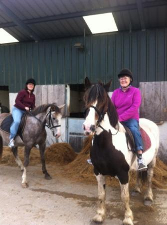Knockillaree Riding Centre : mom and I