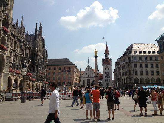 Hotel Mercure Munich Altstadt: Marienplatz