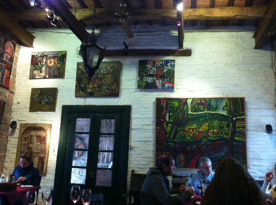 La Casa de Jorge Paez Vilaro - Gallery & Restaurant: restaurant y galería de arte