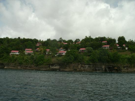 Ti Kaye Resort & Spa: View of Ti Kaye from the Land and Sea Tour