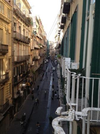 Chiaja Hotel de Charme: La meravigliosa vista dal ns. balconcino