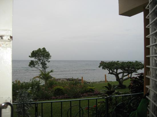 Carib-Ocho Rios: Frontal view from my veranda