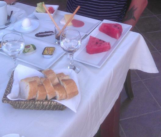 Hotel Garden of Eden: The inclusive Turkish breakfast! Wow