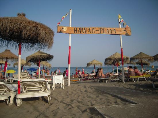 Natali Torremolinos : Spiaggia Playa Hawaii