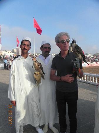 Doukkala-Abda Region, Morocco: fauconnier jean jacques du riad7 moullay Abdalah
