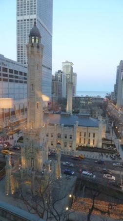 Park Hyatt Chicago: View from the room down to Michigan Ave.