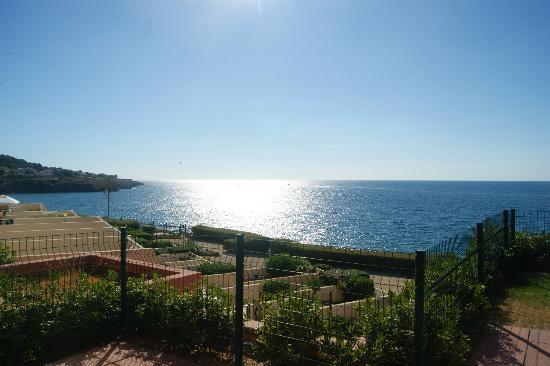 Residence Cap Corniche: vue gauche