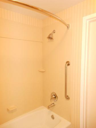 Comfort Suites Barstow : Shower & Tub