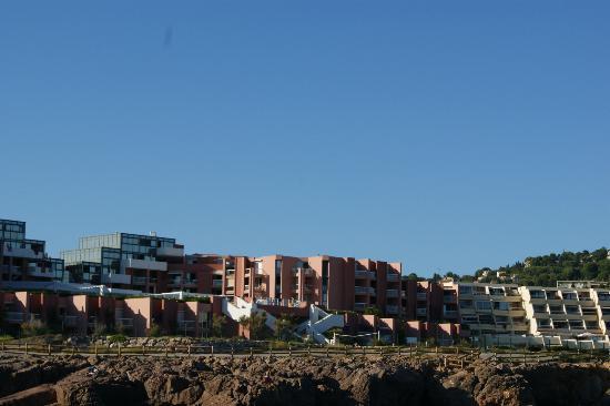 Residence Cap Corniche: vue de la mer