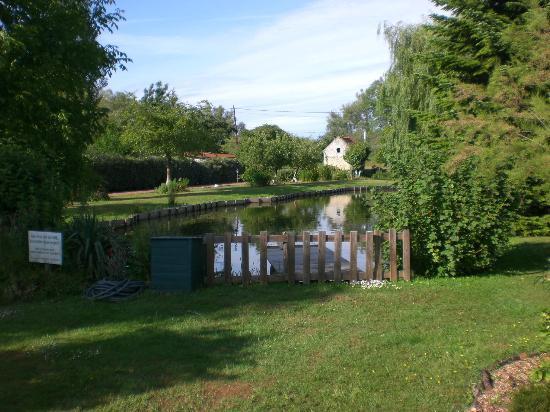 La Fermette Du Marais : parc