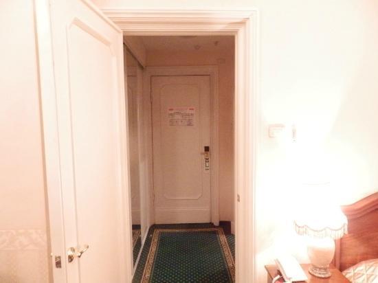 Budapest Hotel: entrée