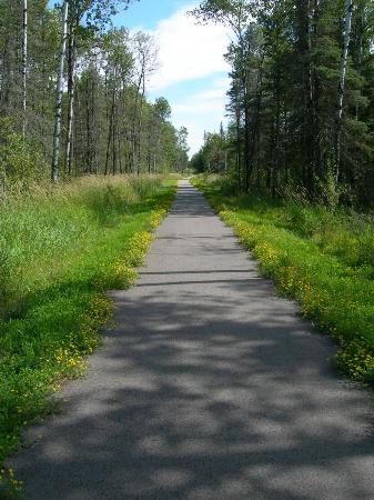 Mesabi Trail near Mountain Iron