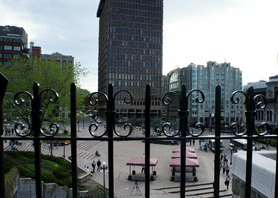 Quebec City Marriott Downtown: From on top of Porte St-Jean