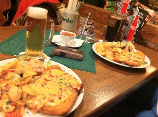 Restaurant Eckstein: Erst kommt das Fressen...
