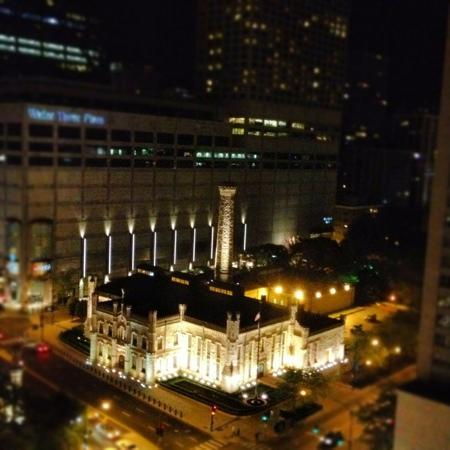 Another photo (instagram assist!) from our room--view at night was amazing.
