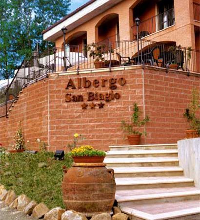 albergo sanbiagio a Montepulciano - Picture of Albergo San Biagio ...