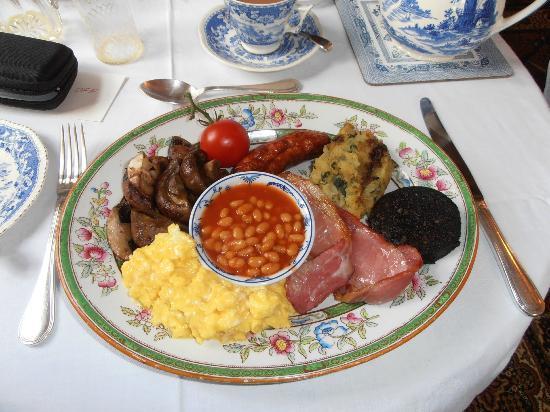 Avon View Bed & Breakfast: The fabulous cooked breakfast