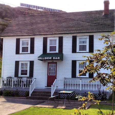 Historic Hillside B&B nestled in the hills on the south side of Twillingate, NewfoundlaND