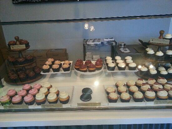 Moustache Baked Goods : The selection