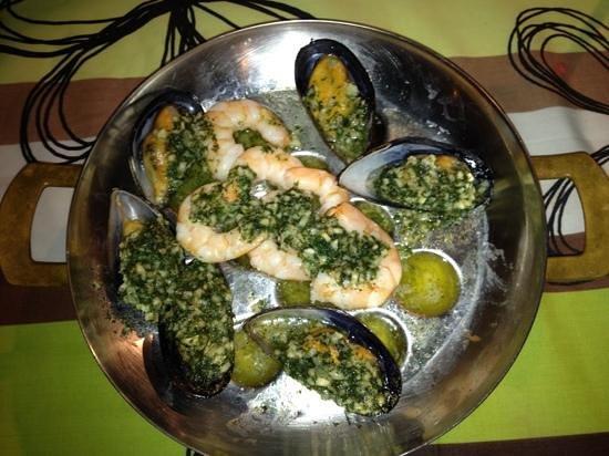 Restaurant Chez Vous : las tapas calientes
