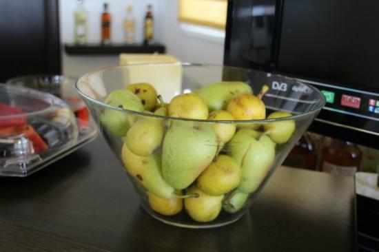 Irida hotel: Fresh pears