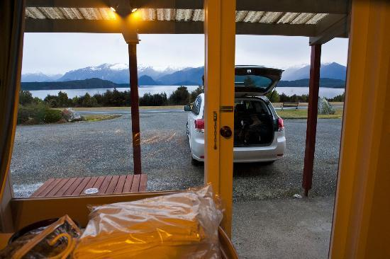 Manapouri Lakeview Motor Inn: Amazing view