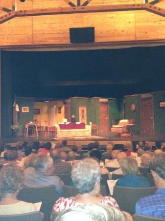 Haywood Arts Regional Theater: set