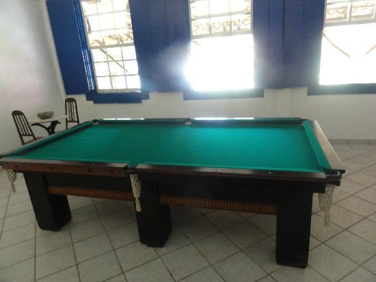 Hotel Fazenda 3 Pinheiros : Bilhar.