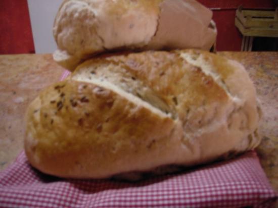 Vallarta Bagel World: Rye Bread