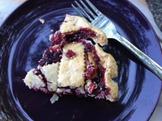 Green-bank Farm: A slice of loganberry pie