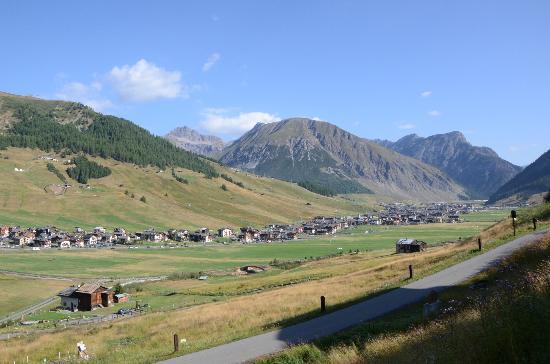 Residence Baita Cusini : Panorama di Livigno