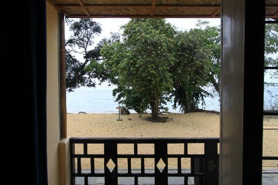 Siuri Cottages: Vista desde la habitación